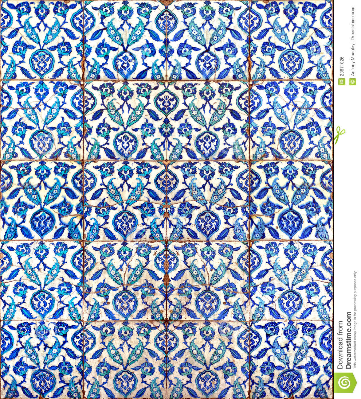 Islamic Tiles 02 Royalty Free Stock Image Image 23871026