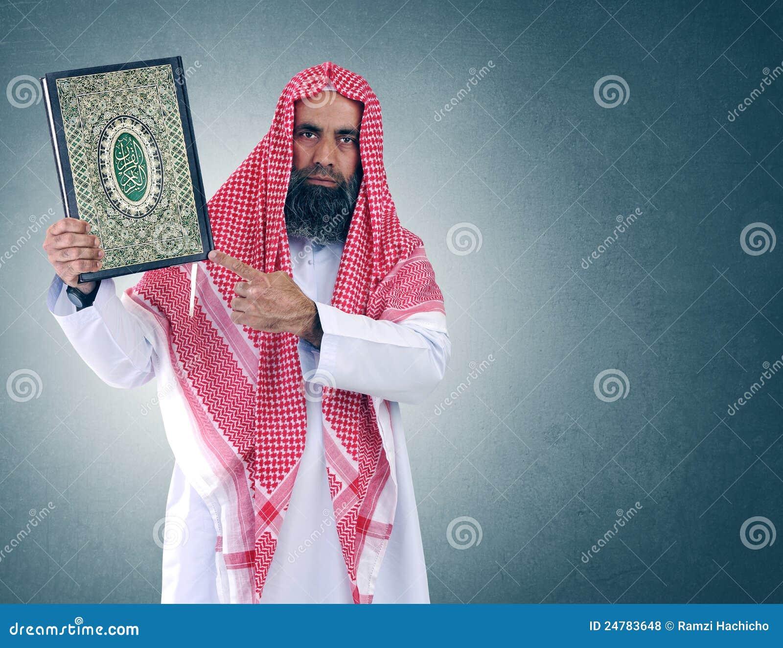 Arabisches Muslim-Mädel