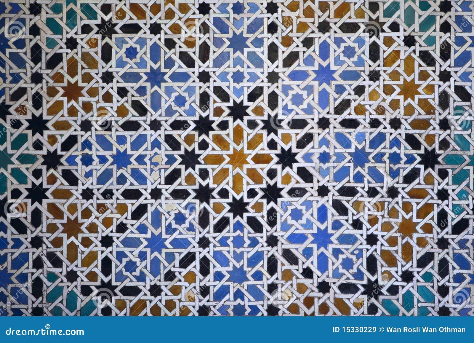 Islamiska tegelplattor