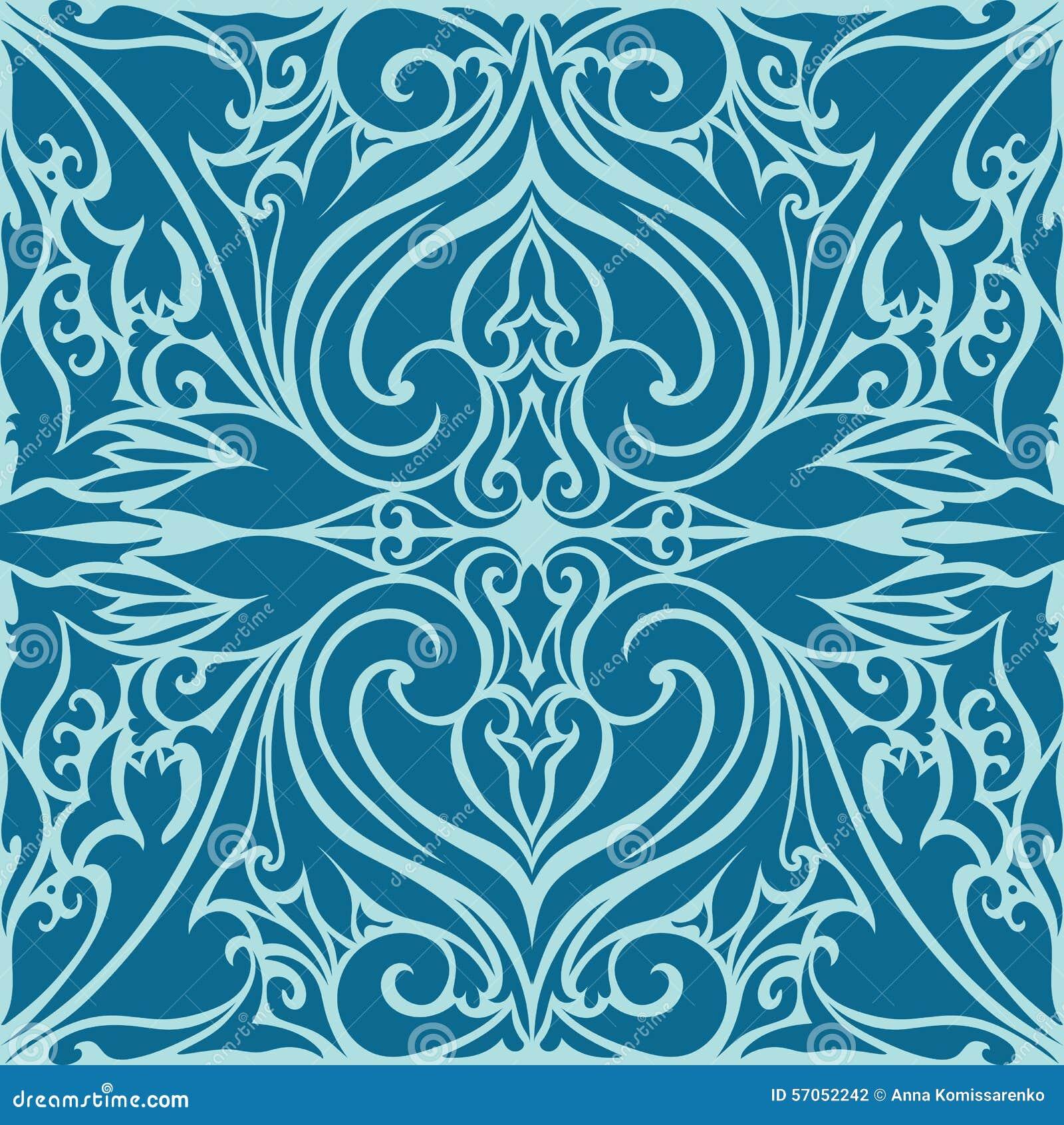 Islamitisch Art Ornaments Pattern