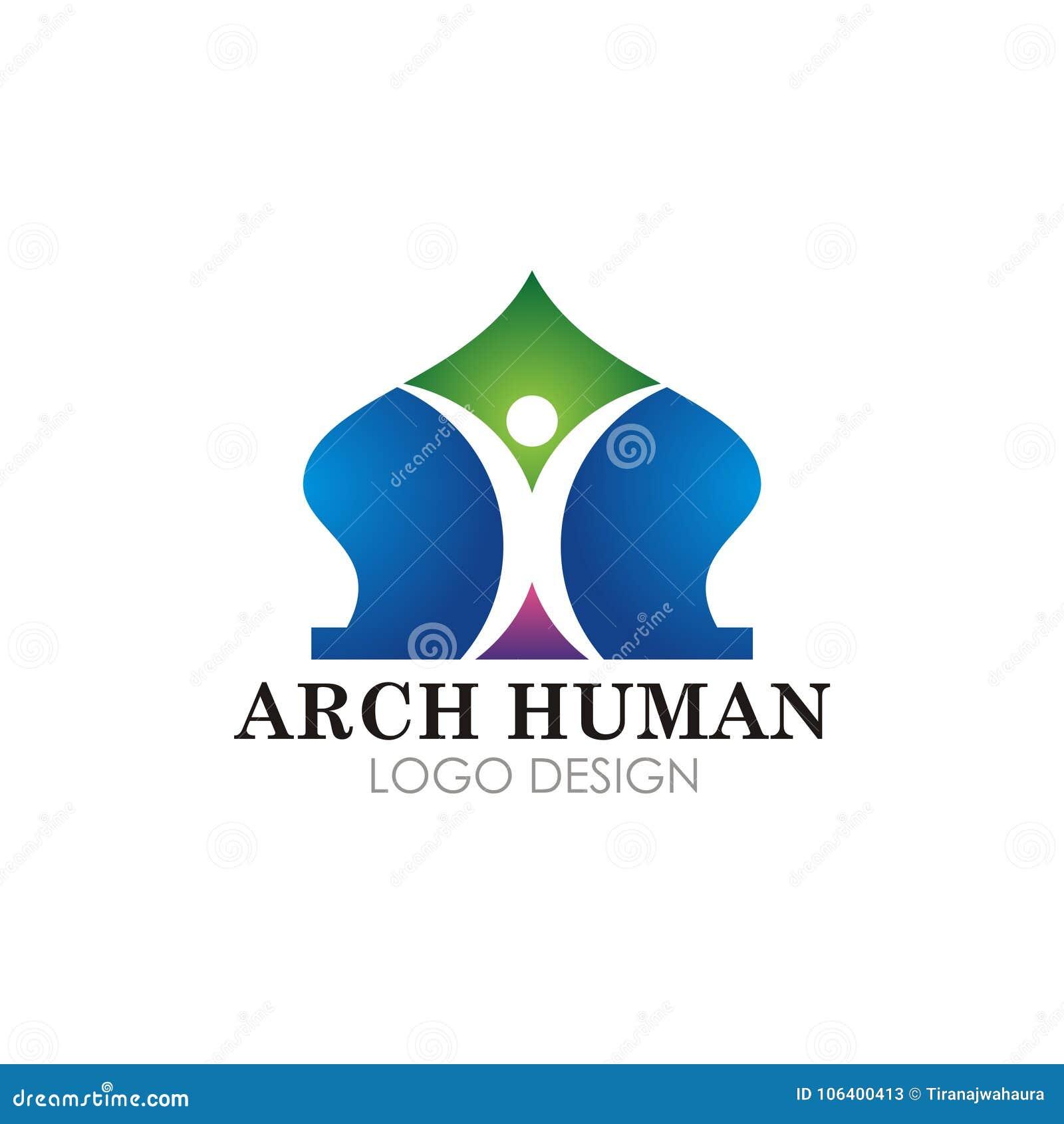 Islamitisch moskee logotype vectorontwerp