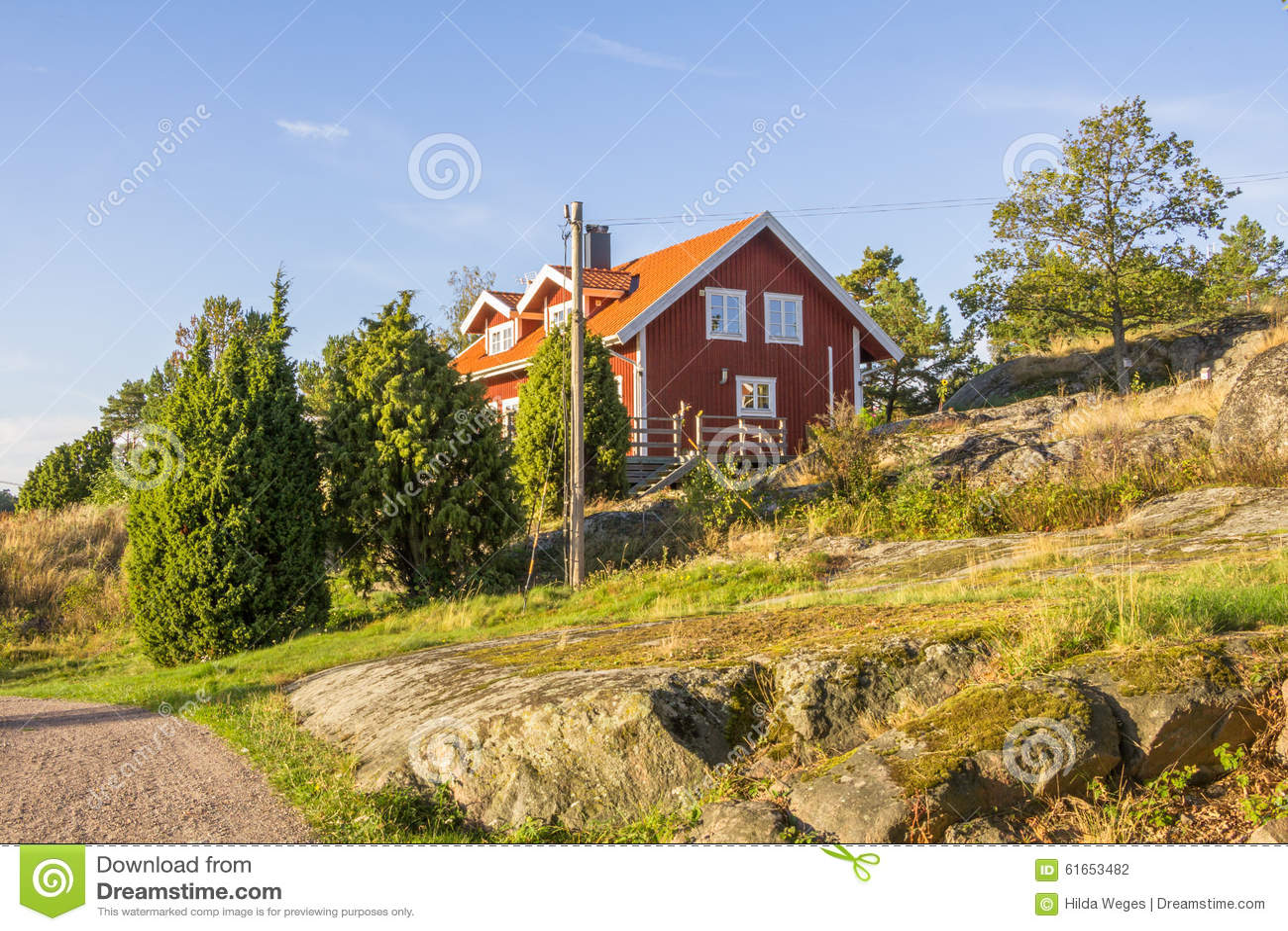 Island Harstena in Sweden