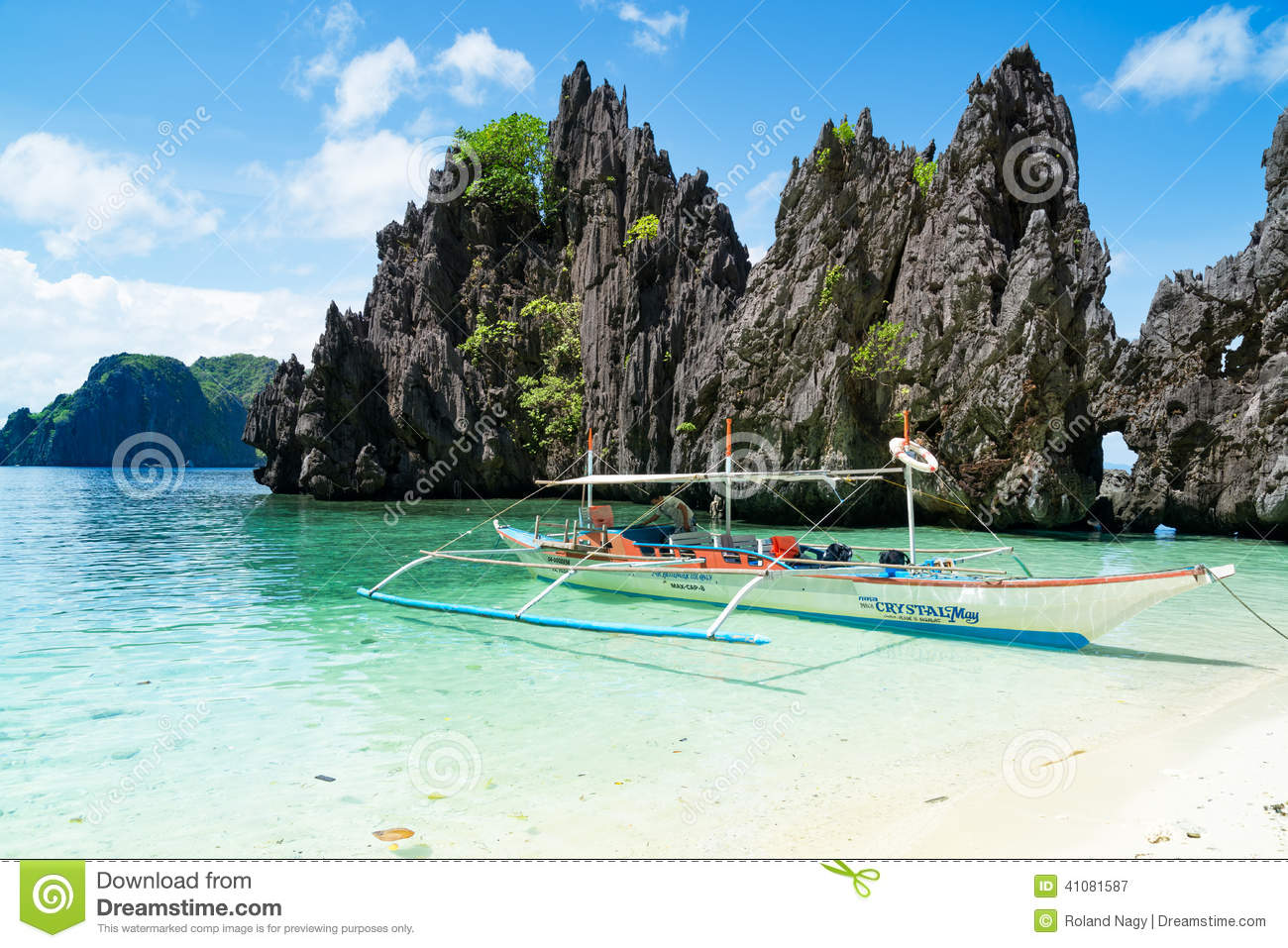 Island Hopping In El Nido, Palawan - Philippines Editorial Photography - Image: 41081587