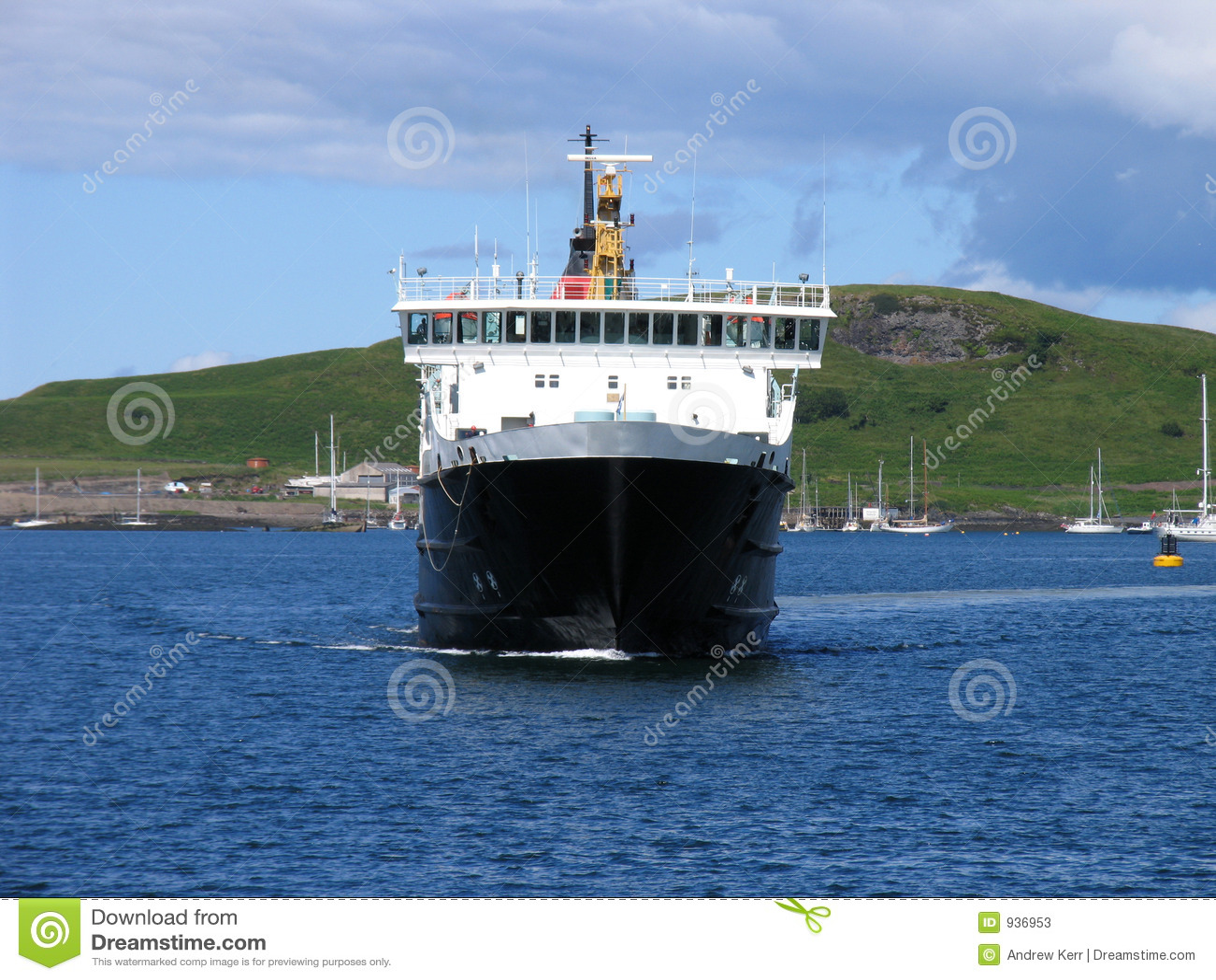 Island-hopping ferry