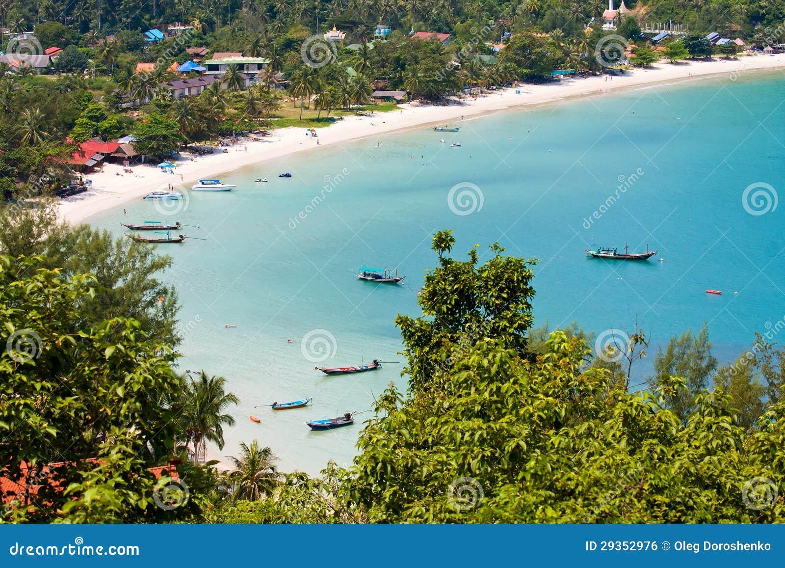 Island Koh Phangan, Thailand.
