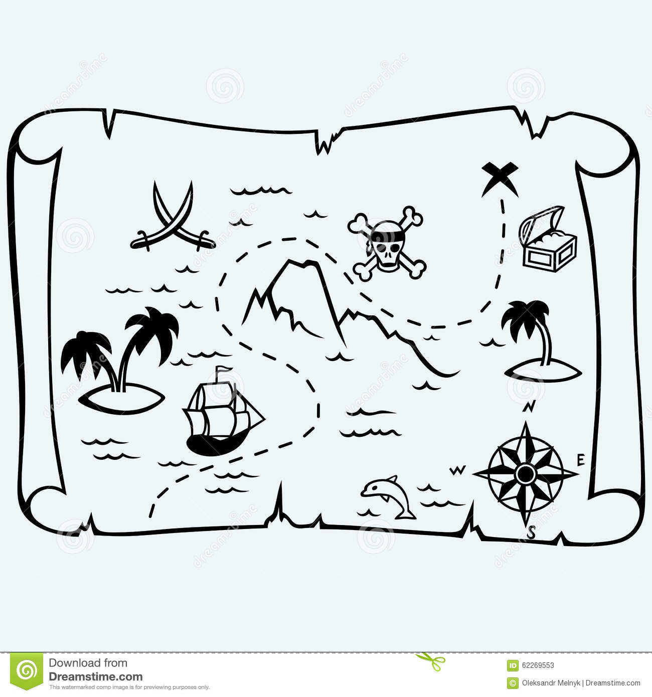 Gallery For gt Pirate Map Background Black And White