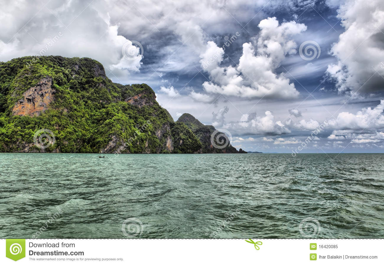 Islands In Andaman Sea Royalty Free Stock Photo - Image: 16420085