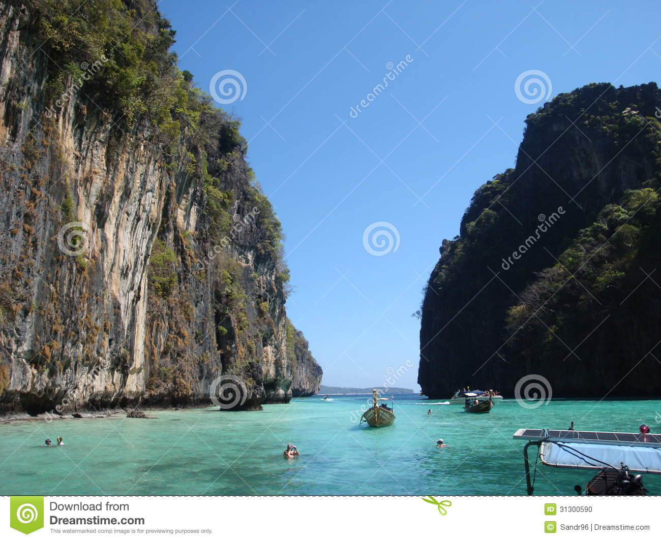 The Islands In The Andaman Sea Stock Photo Image 31300590