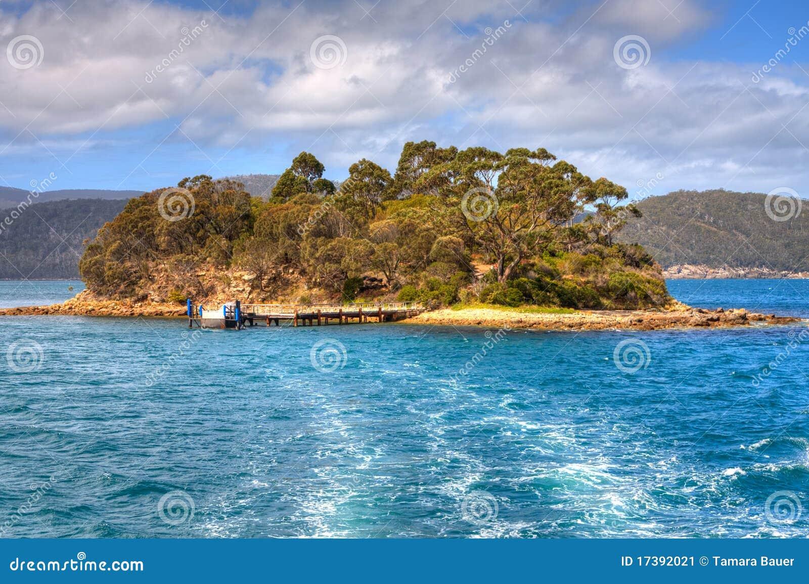 Isle Of The Dead, Port Arthur, Tasmania Stock Image ...