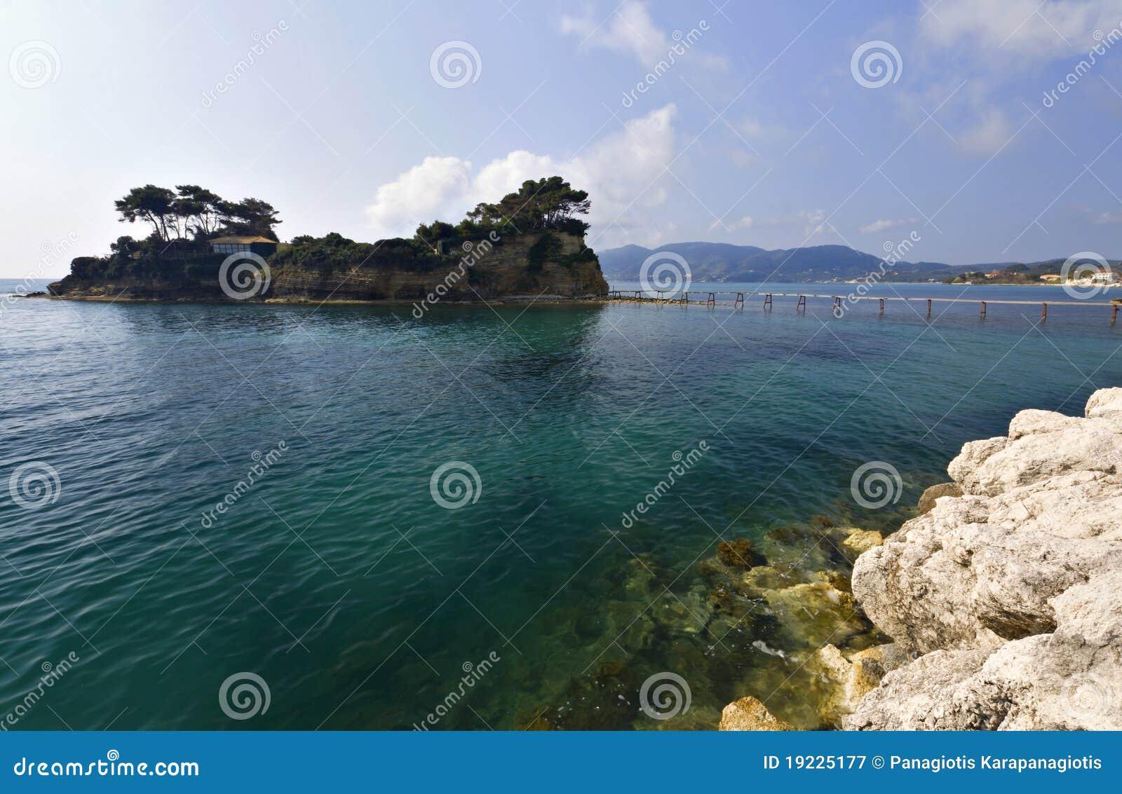 Islli di Sostis di aggi a Zacinto in Grecia