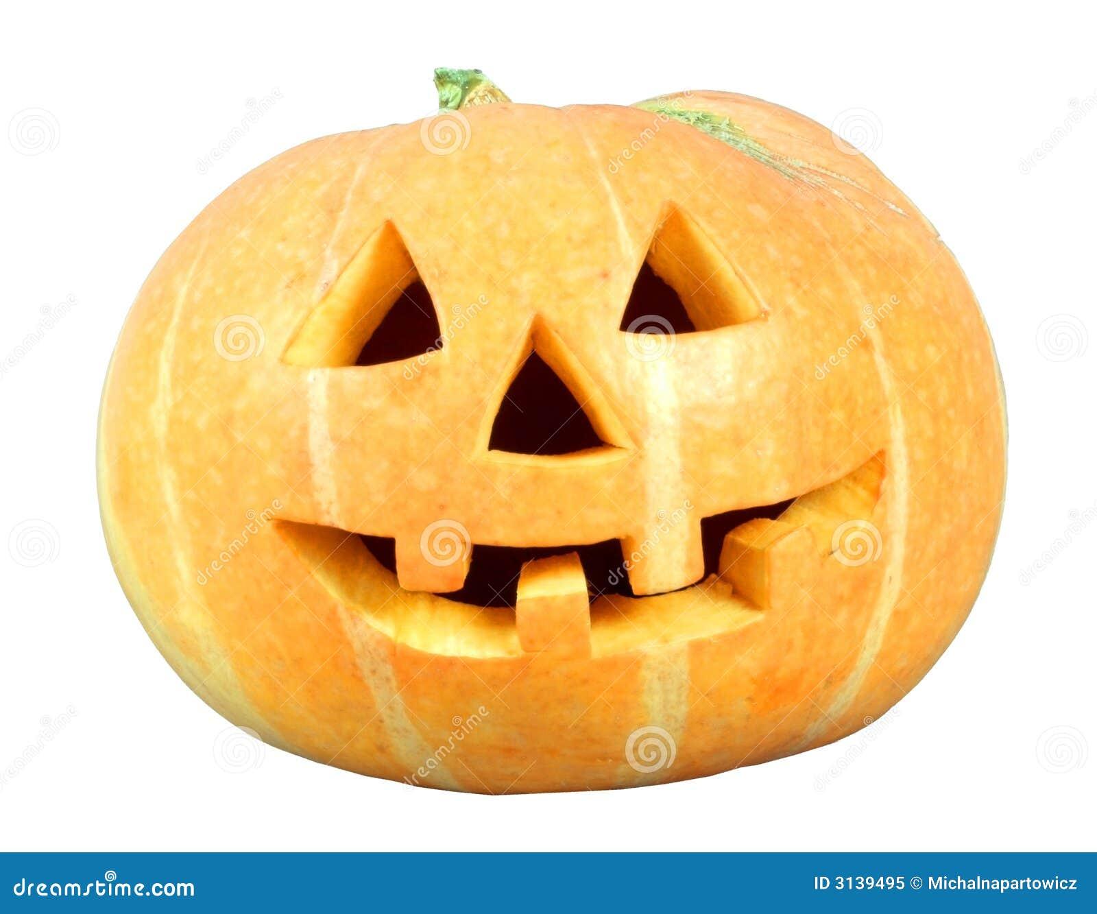 Isloate della zucca di Halloween