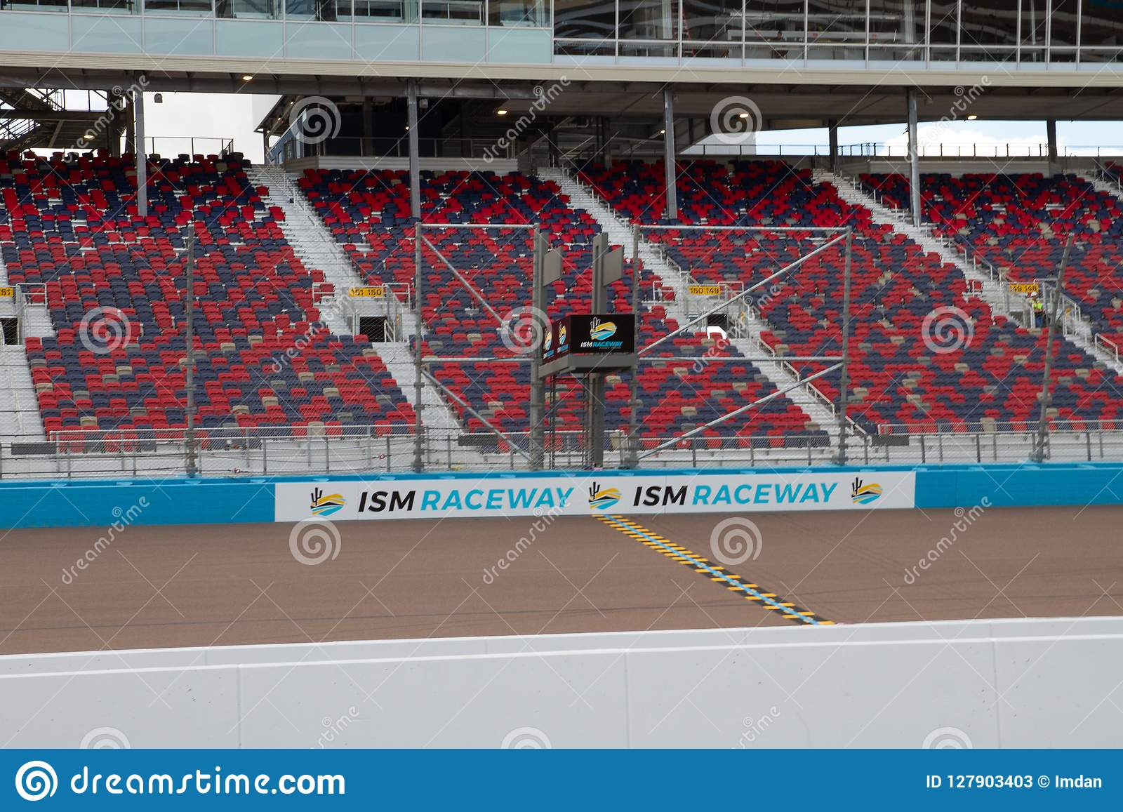 ISMkapplöpningsbana - Phoenix Nascar och IndyCar