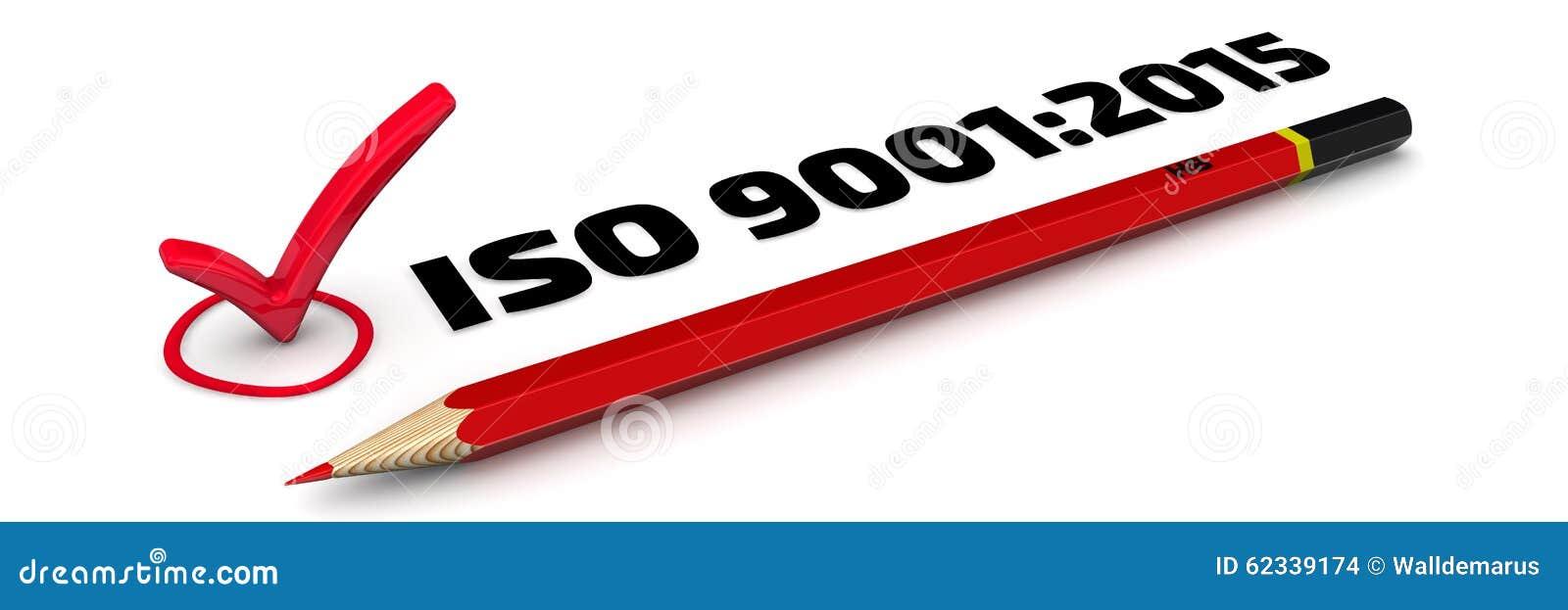 9001:2015 ISO Метка