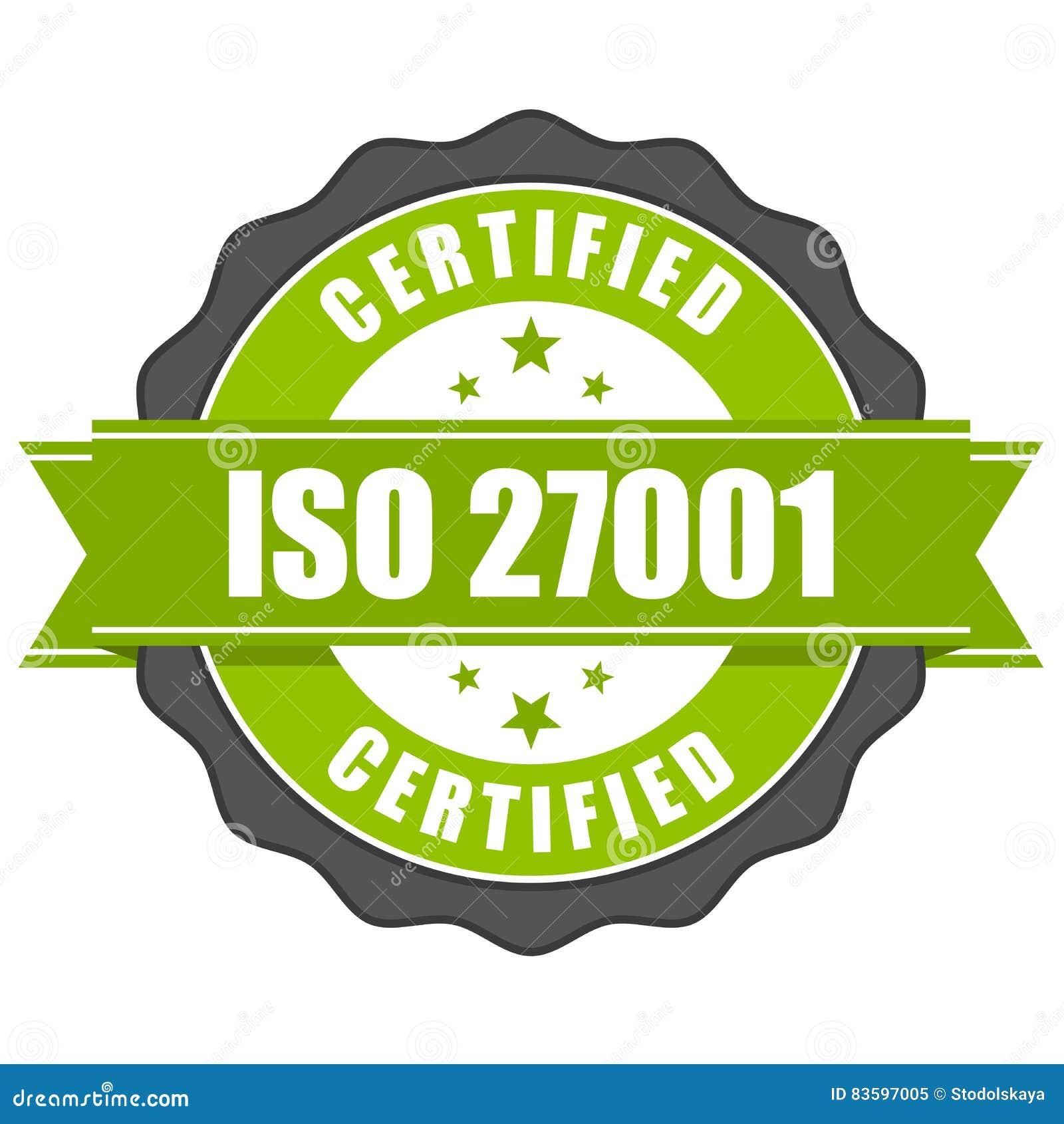 ISO 27001标准证明徽章-信息保障mana