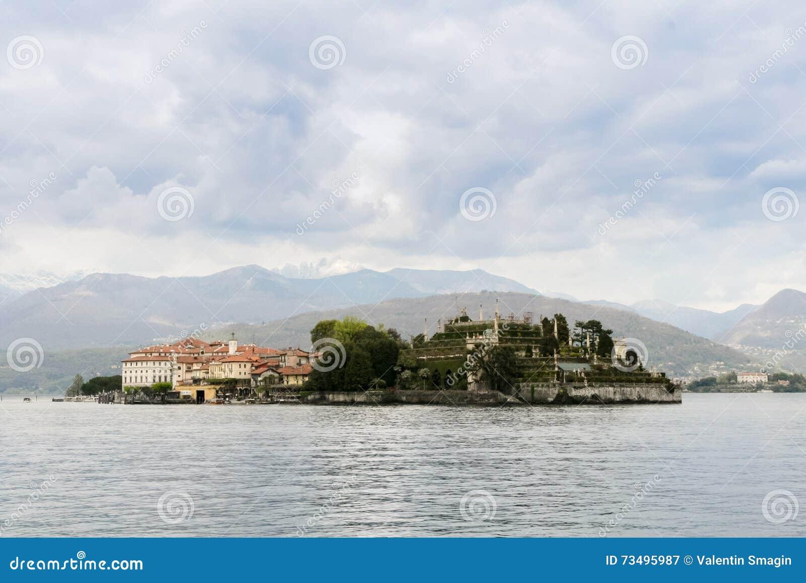 Isola Bella no lago Maggiore