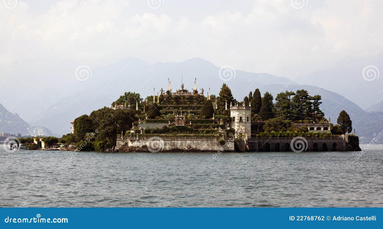 Isola Bella, See maggiore, Italien