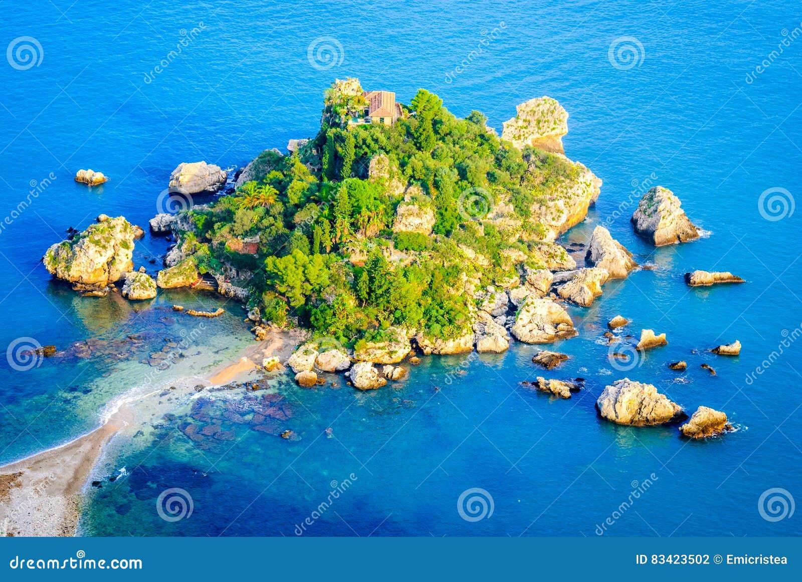 Isola Bella - Taormina, Sicilien, Italien