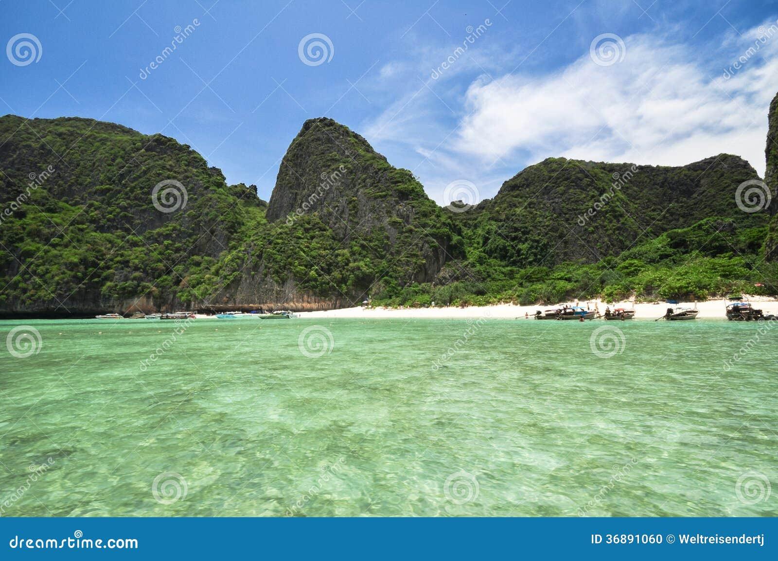 Download Isola del phi del phi fotografia stock. Immagine di verde - 36891060