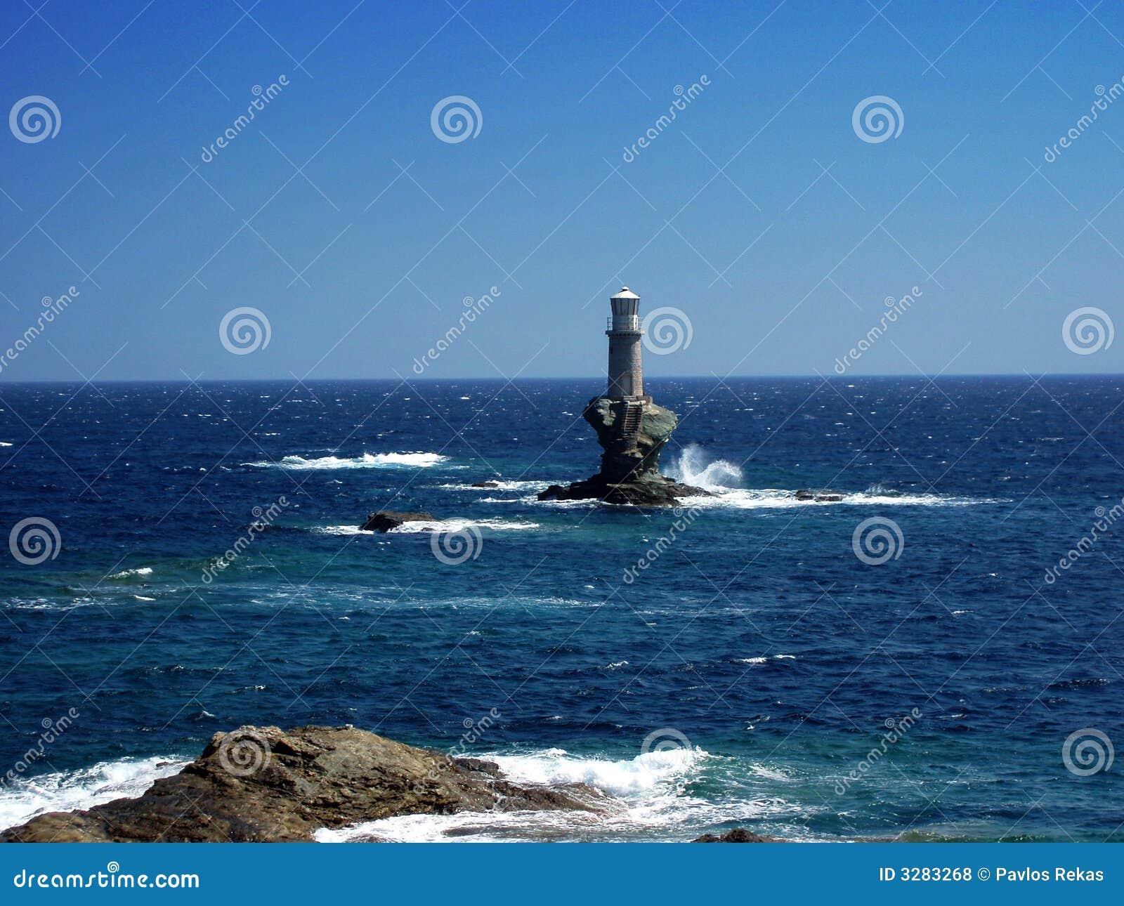 Isola di Andros - casa chiara