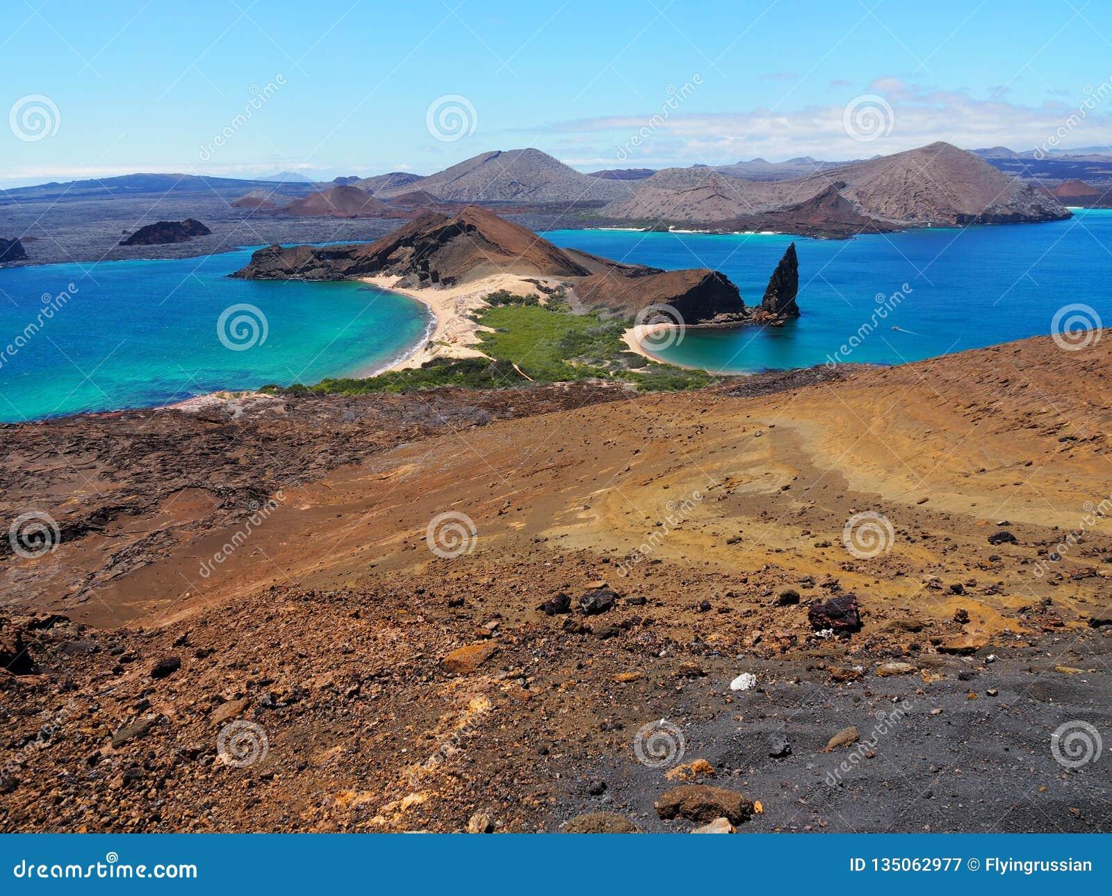 Isola di Bartolome in Galapagos, viaggio e turismo Ecuador