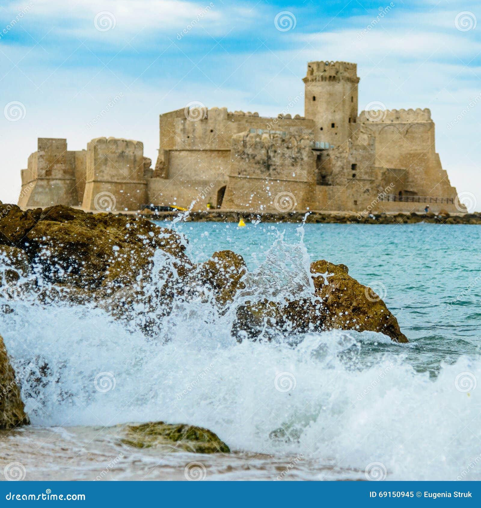 Isola di Capo Rizzuto, la province de Crotone, Calabre, Italie
