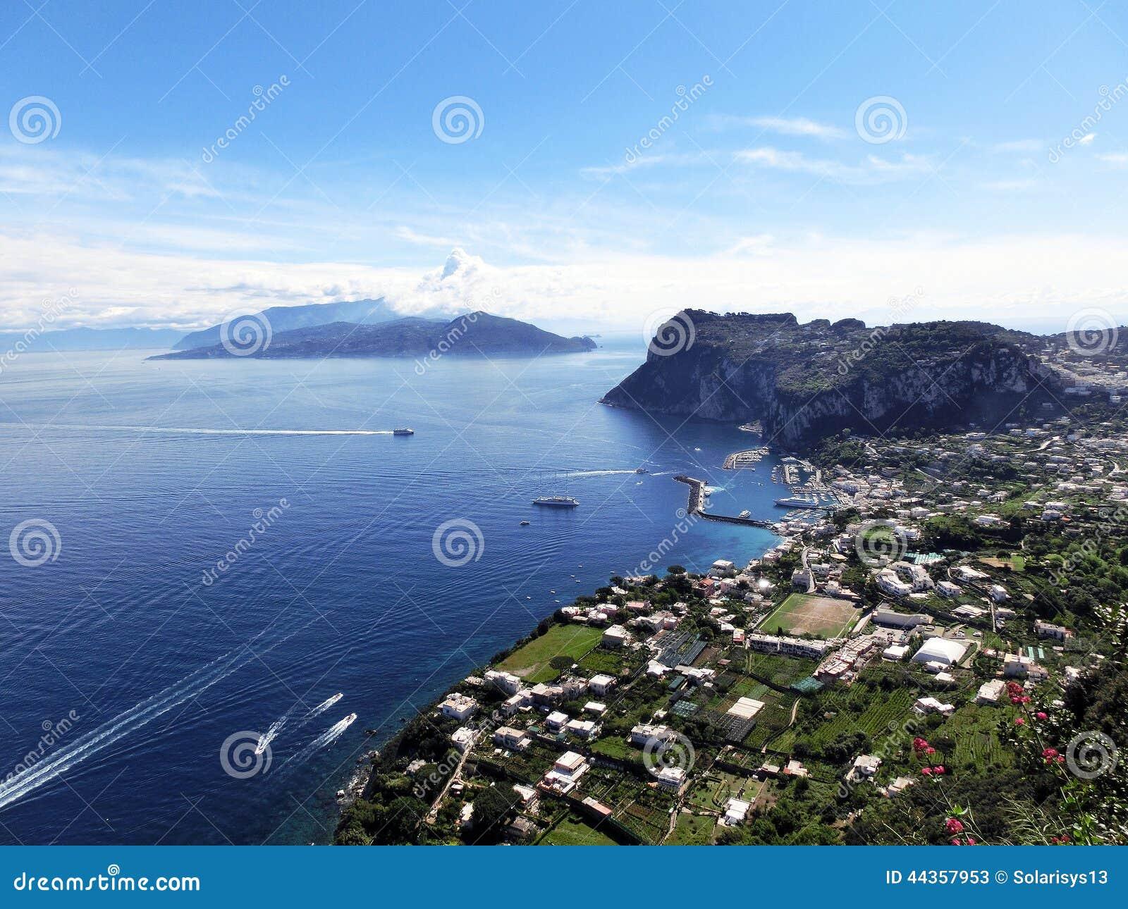 Isola di Capri, Italia, vicino a Napoli