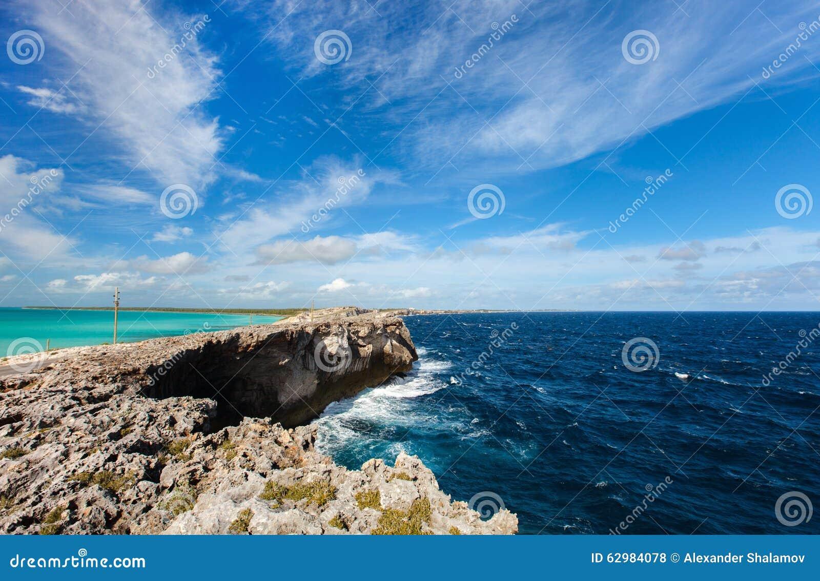 Isola di eleuthera fotografia stock immagine di turchese for Alexander isola