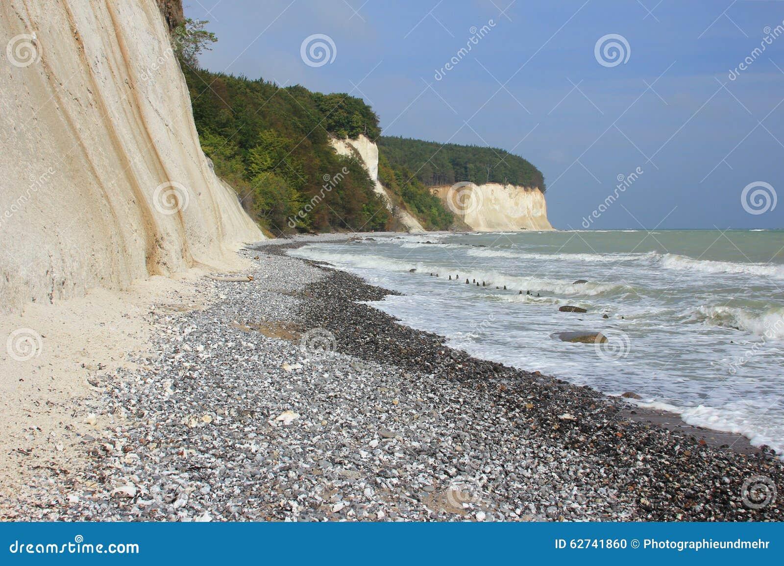 isola di rugen mar baltico germania fotografia stock