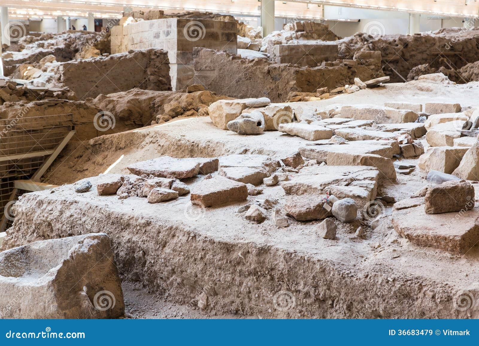 Isola di santorini creta grecia rovine e sito for Immagini sito