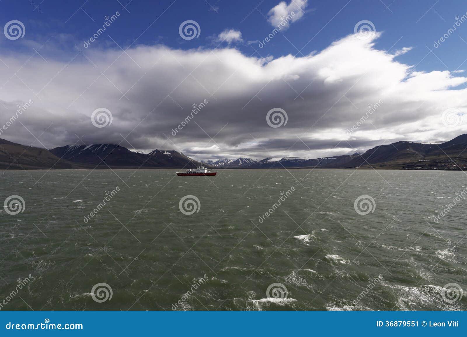 Download Isola di Spitsbergen immagine stock. Immagine di naughty - 36879551