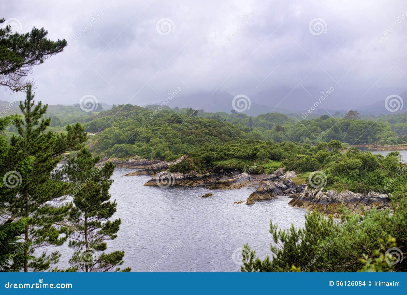 Isola Irlanda di contorno