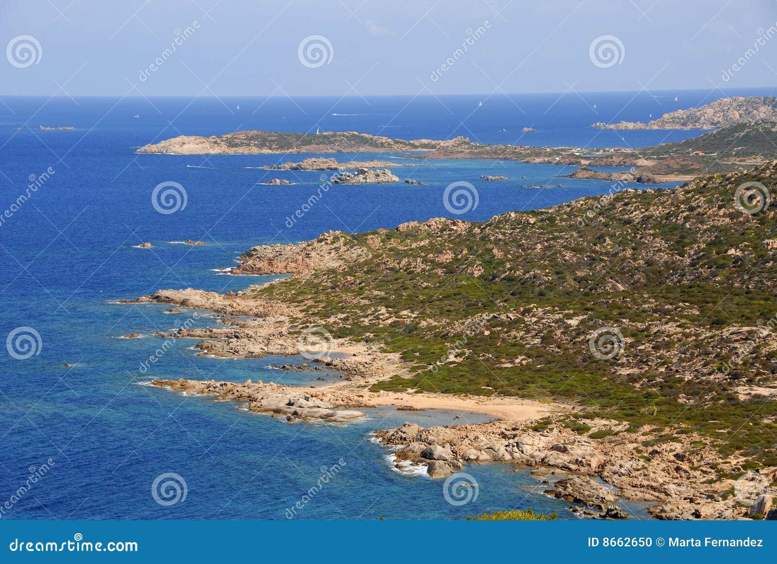 Isola Italie Maddalena Sardaigne