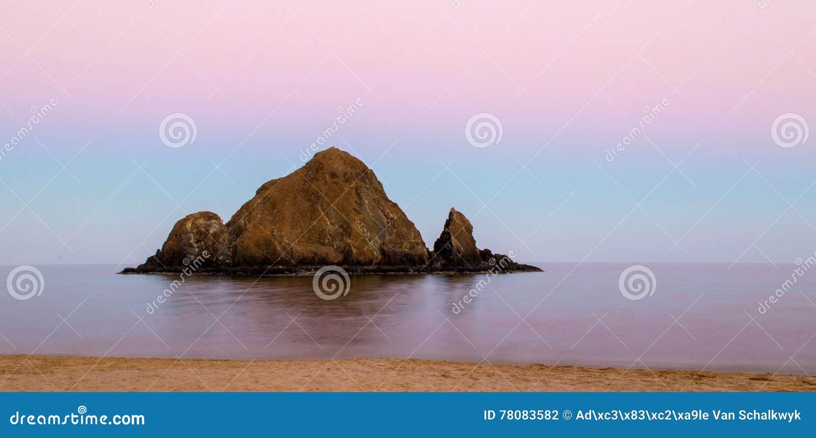 Isola Snoopy dopo il tramonto