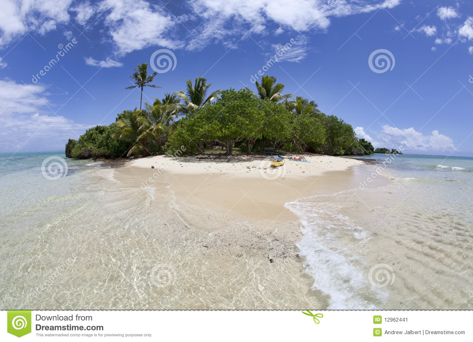 Isola tropicale isolata, Fiji