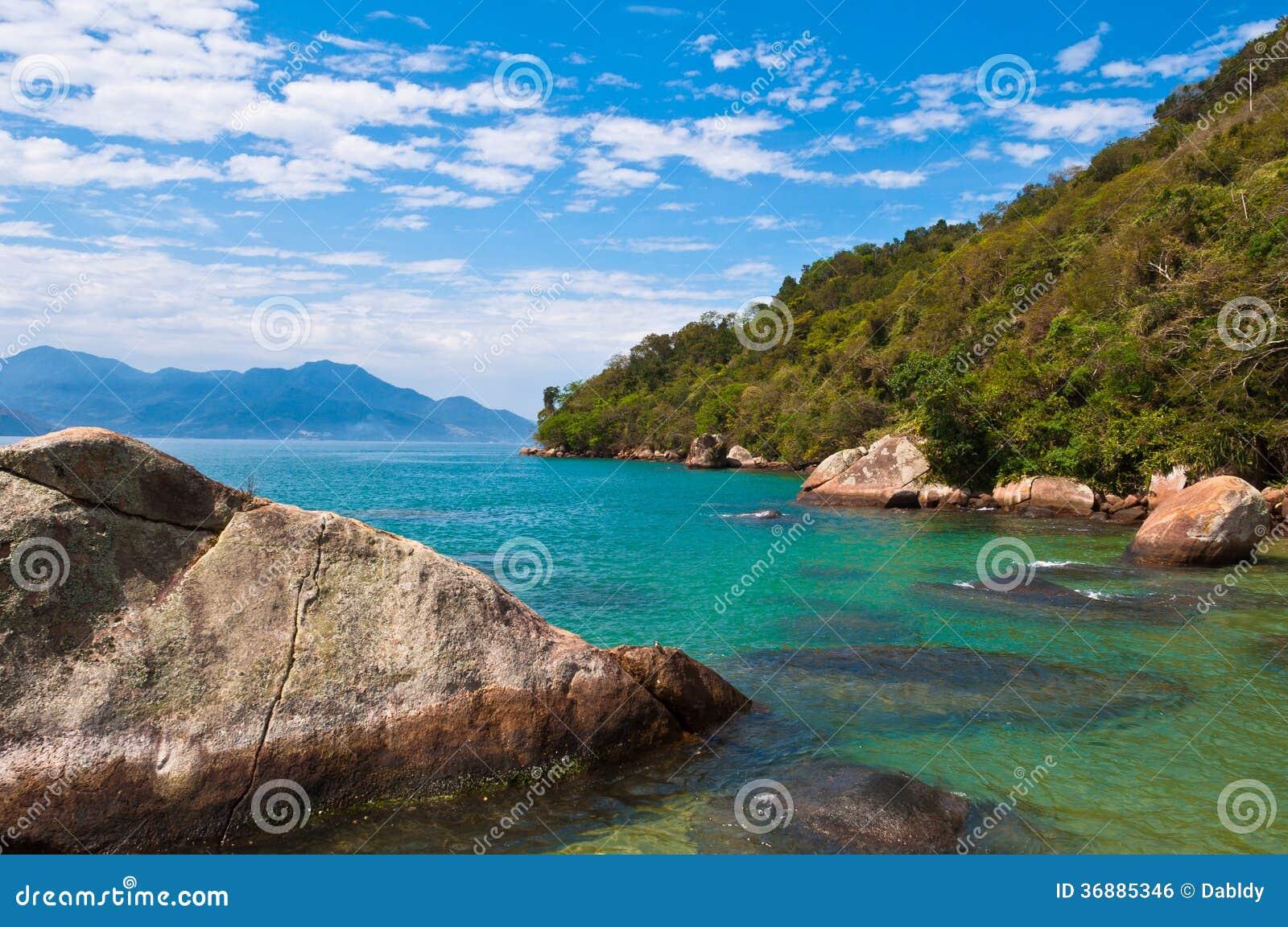 Download Isola Tropicale Nel Brasile Fotografia Stock - Immagine di paesaggio, paradise: 36885346