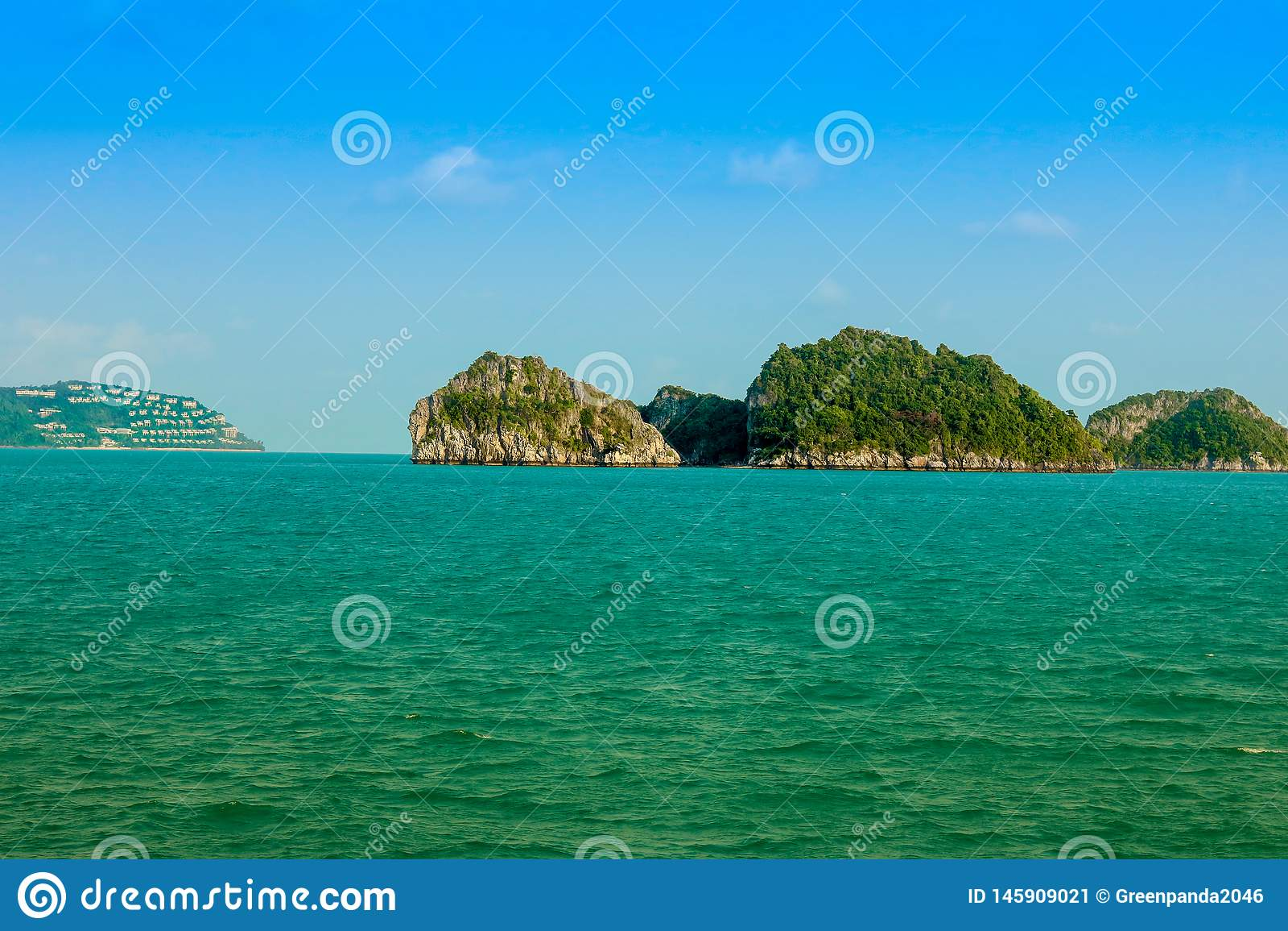Isola tropicale in Tailandia