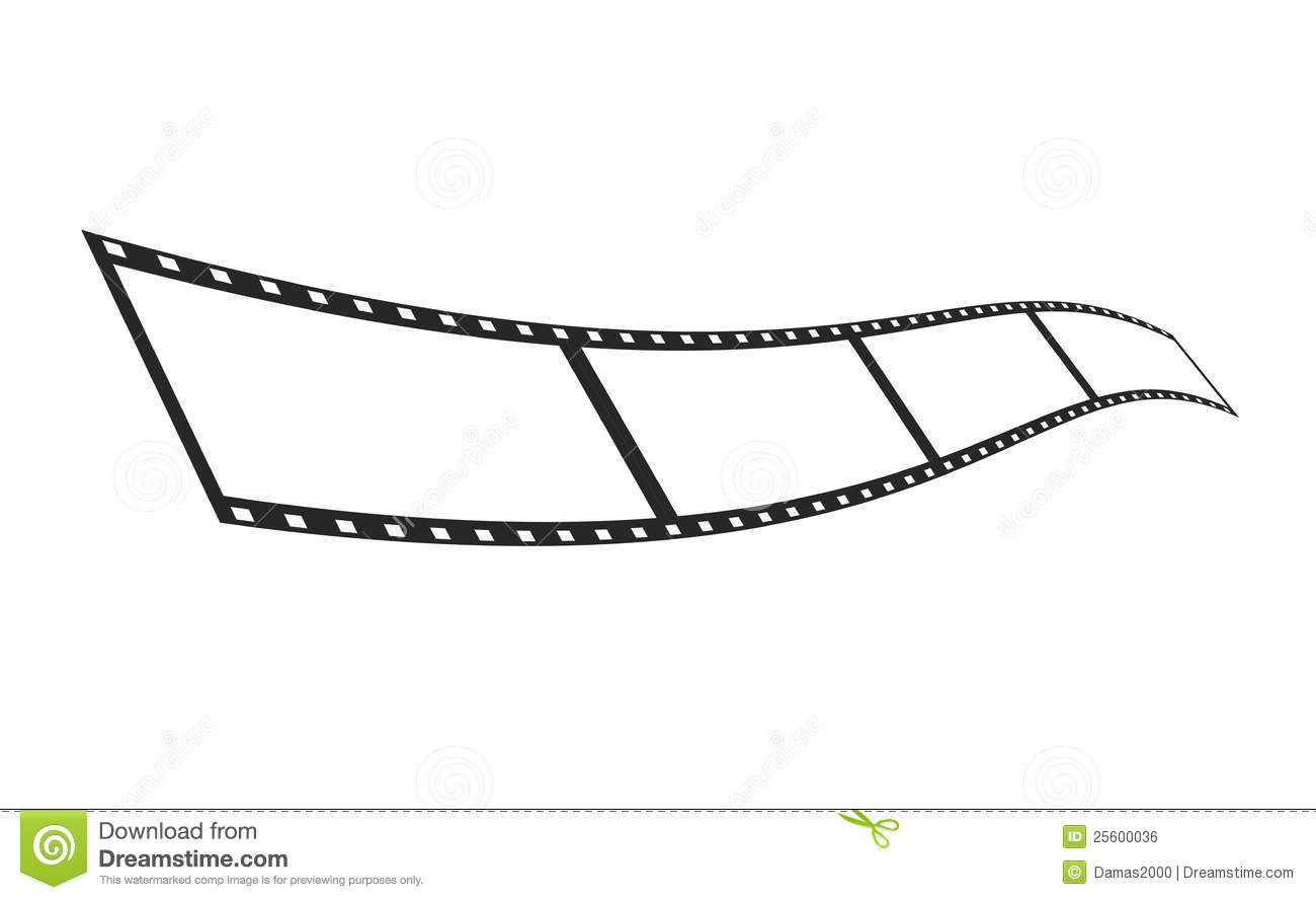 film strip picture template - isolate film strip template stock photo image 25600036