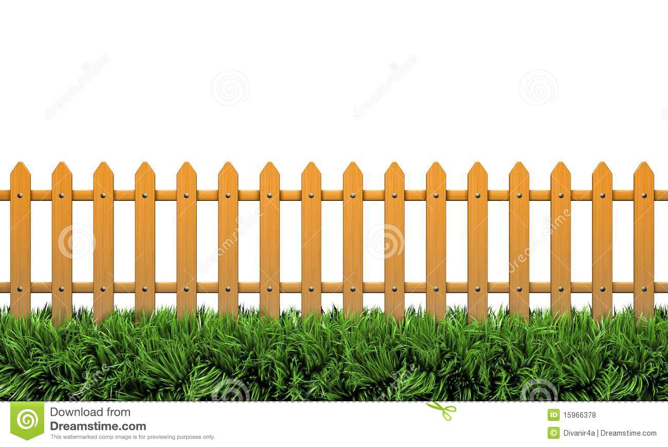 Farm Fence Clipart isolated 3d fence royalty free stock photos - image: 15966378