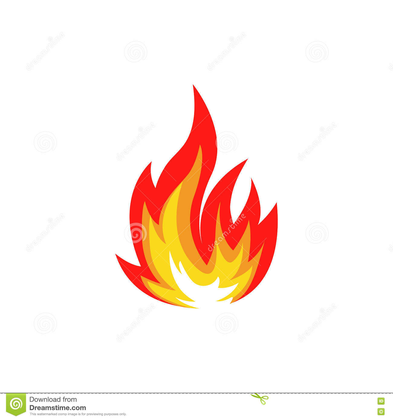 Isolated Abstract Red And Orange Color Fire Flame Logo On ... - photo#47