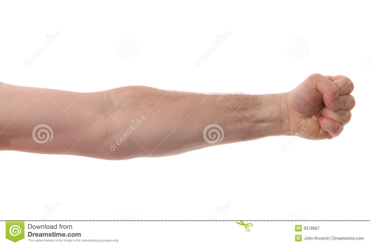Isolated Arm with Fist