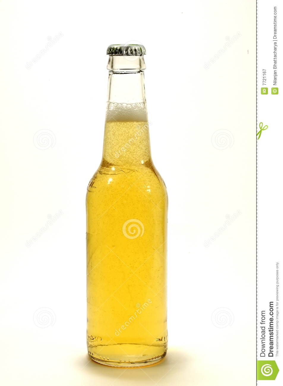 Isolated Beer Bottle Royalty Free Stock Photography - Image: 7721167