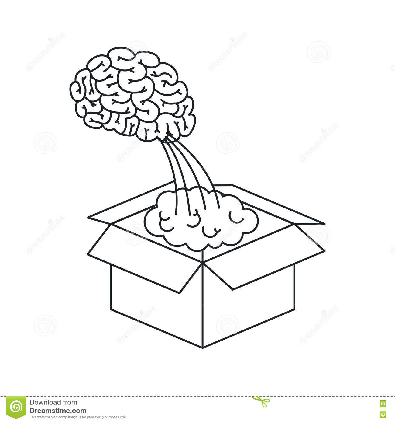 Isolated big idea draw design stock vector illustration of brain download isolated big idea draw design stock vector illustration of brain invention 80614762 ccuart Images