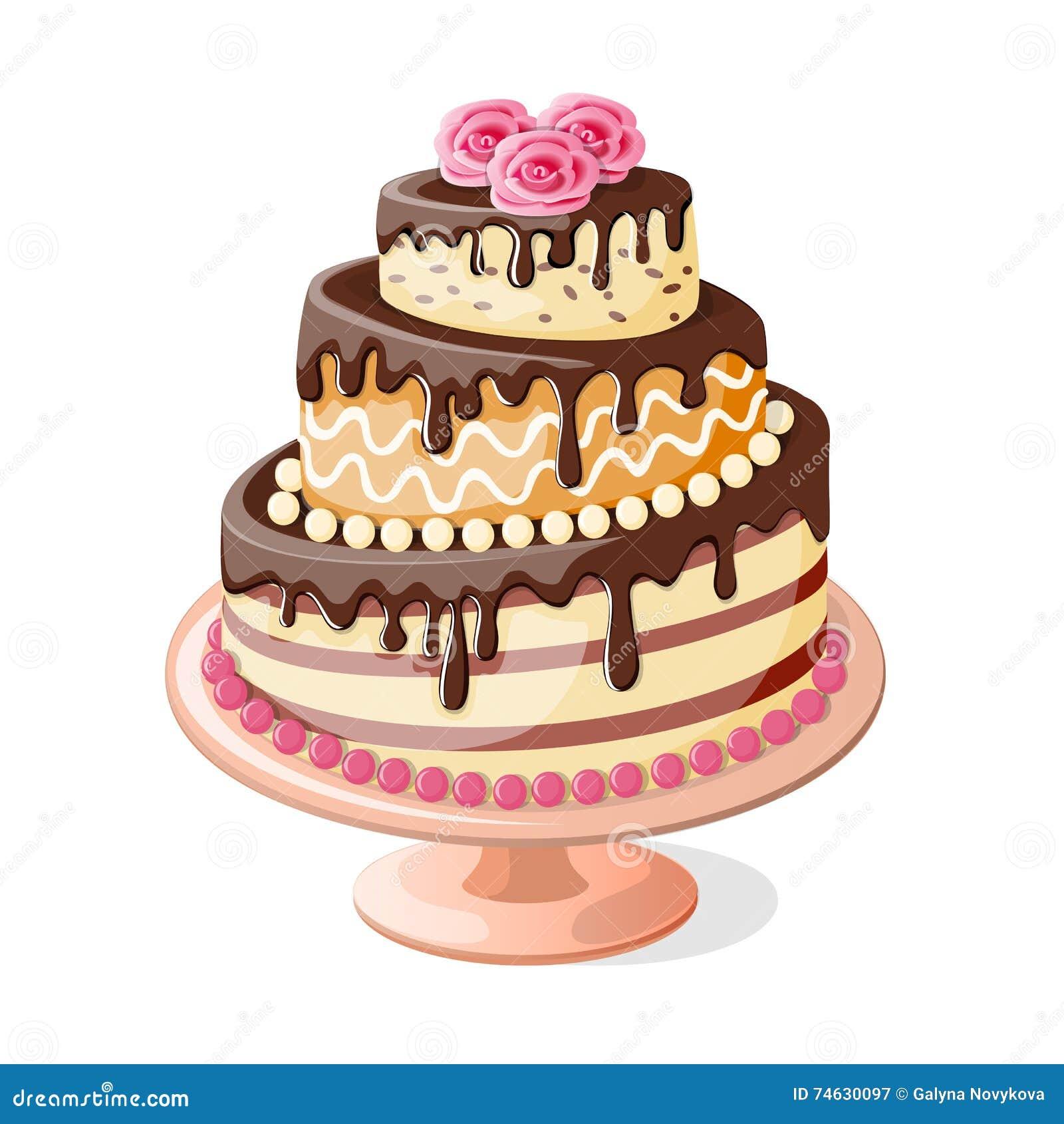Cafeteria Chocolate Cake