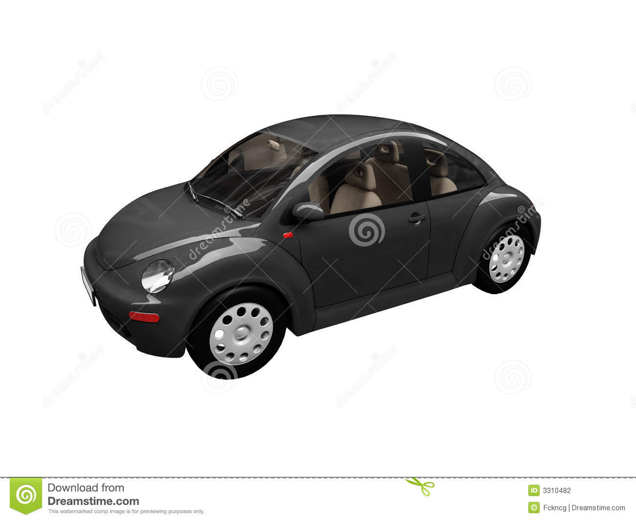 Black Beetle Car