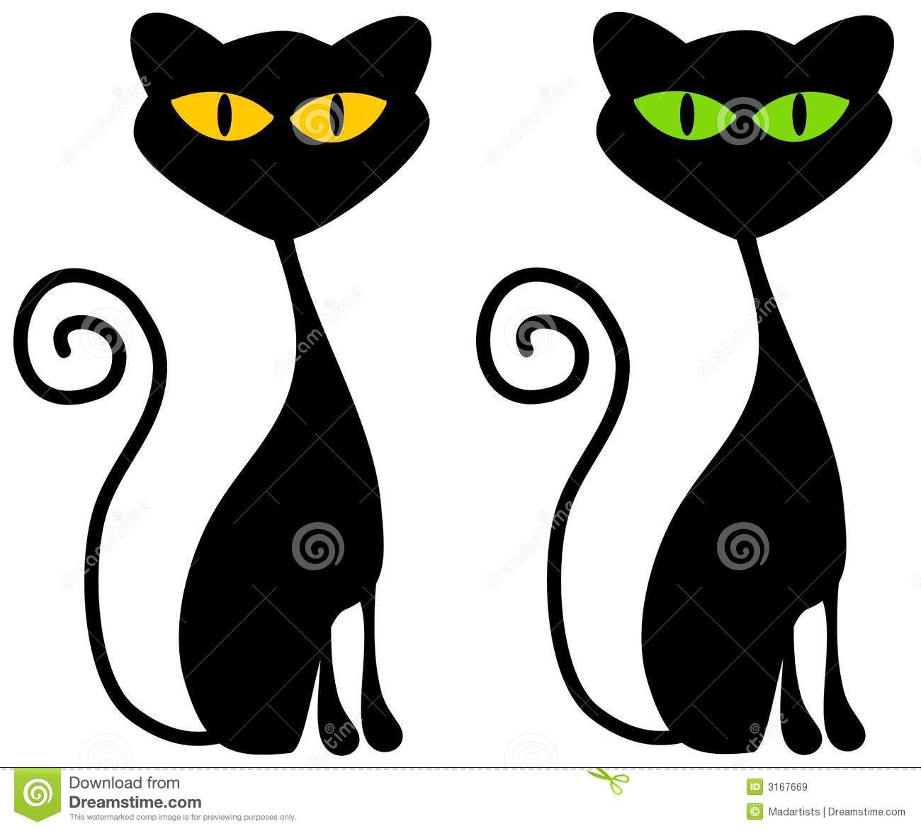 isolated black cats clip art stock illustration illustration of rh dreamstime com clip art cats images clip art cat silhouette