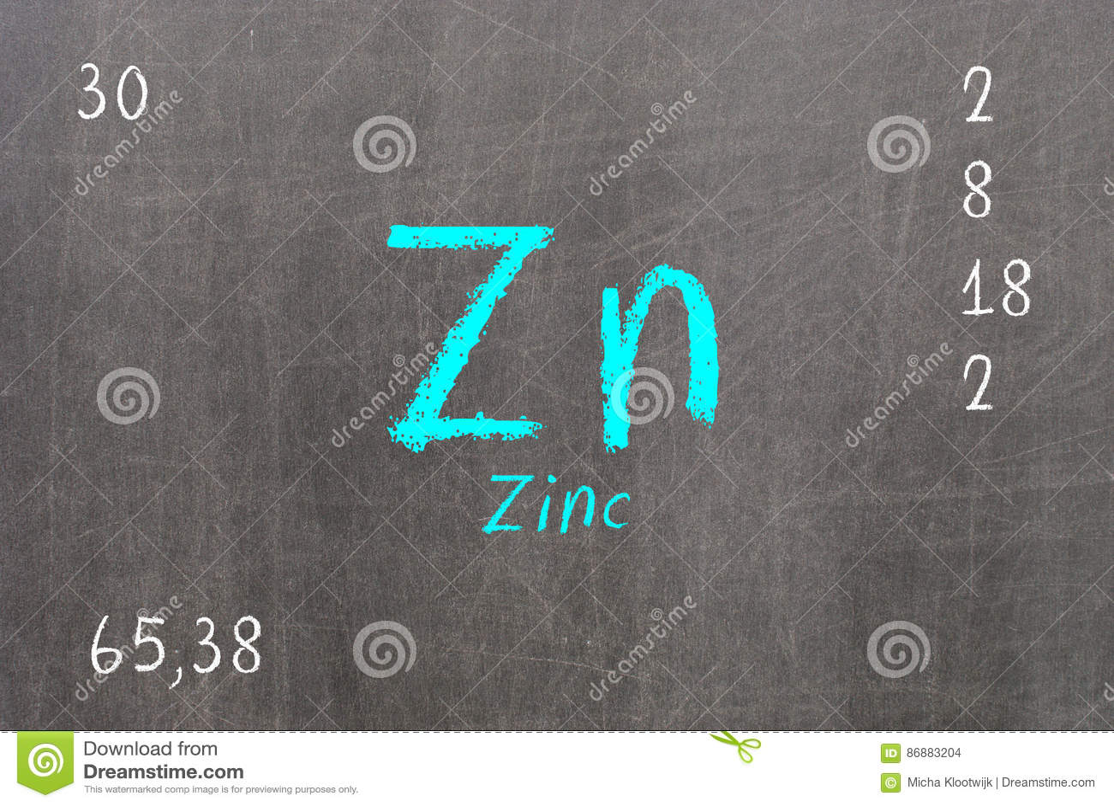 Periodic table zinc choice image periodic table images periodic table zinc choice image periodic table images isolated blackboard with periodic table zinc stock illustration gamestrikefo Gallery