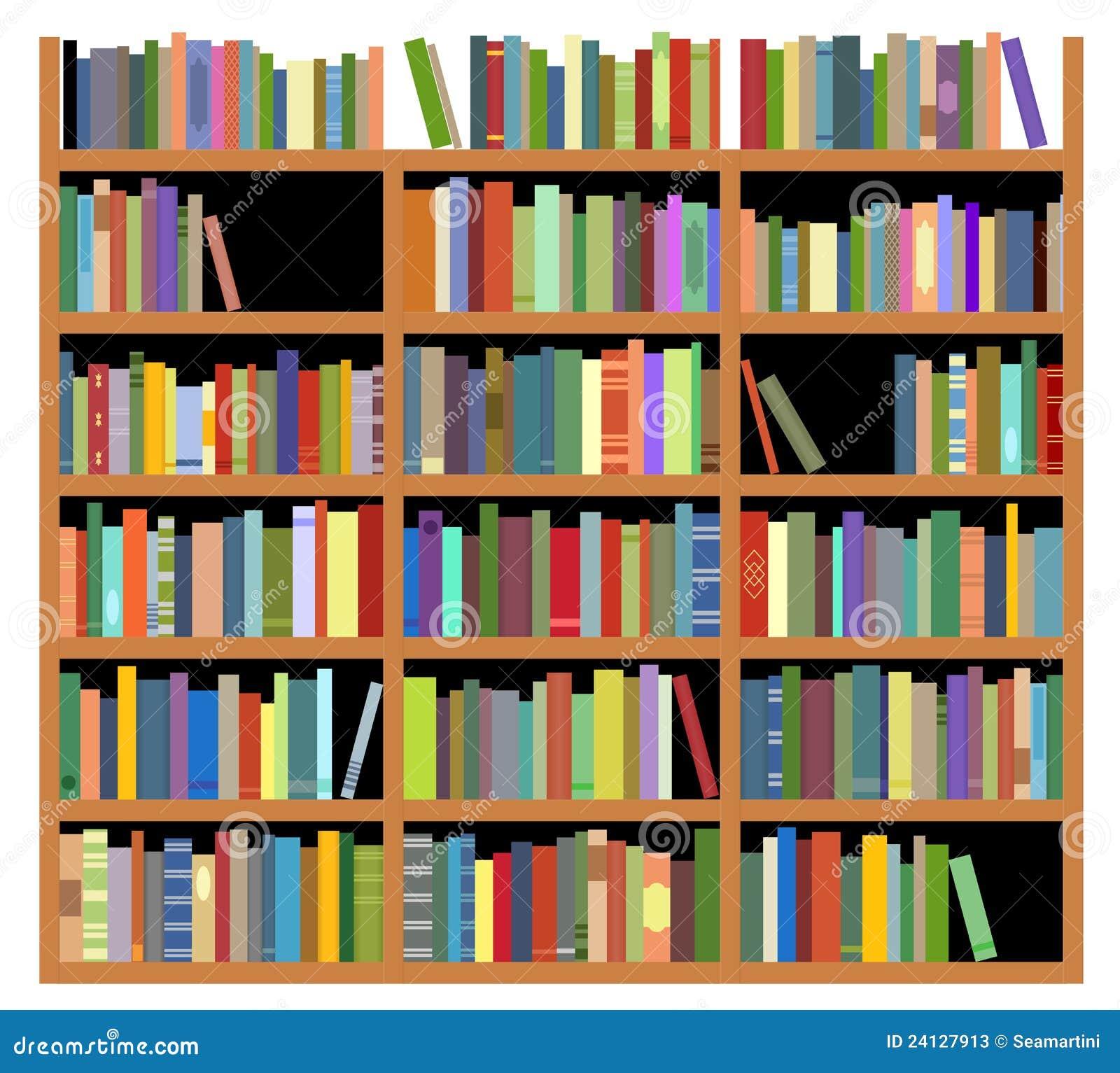 Isolated Bookshelf Stock Photos Image 24127913