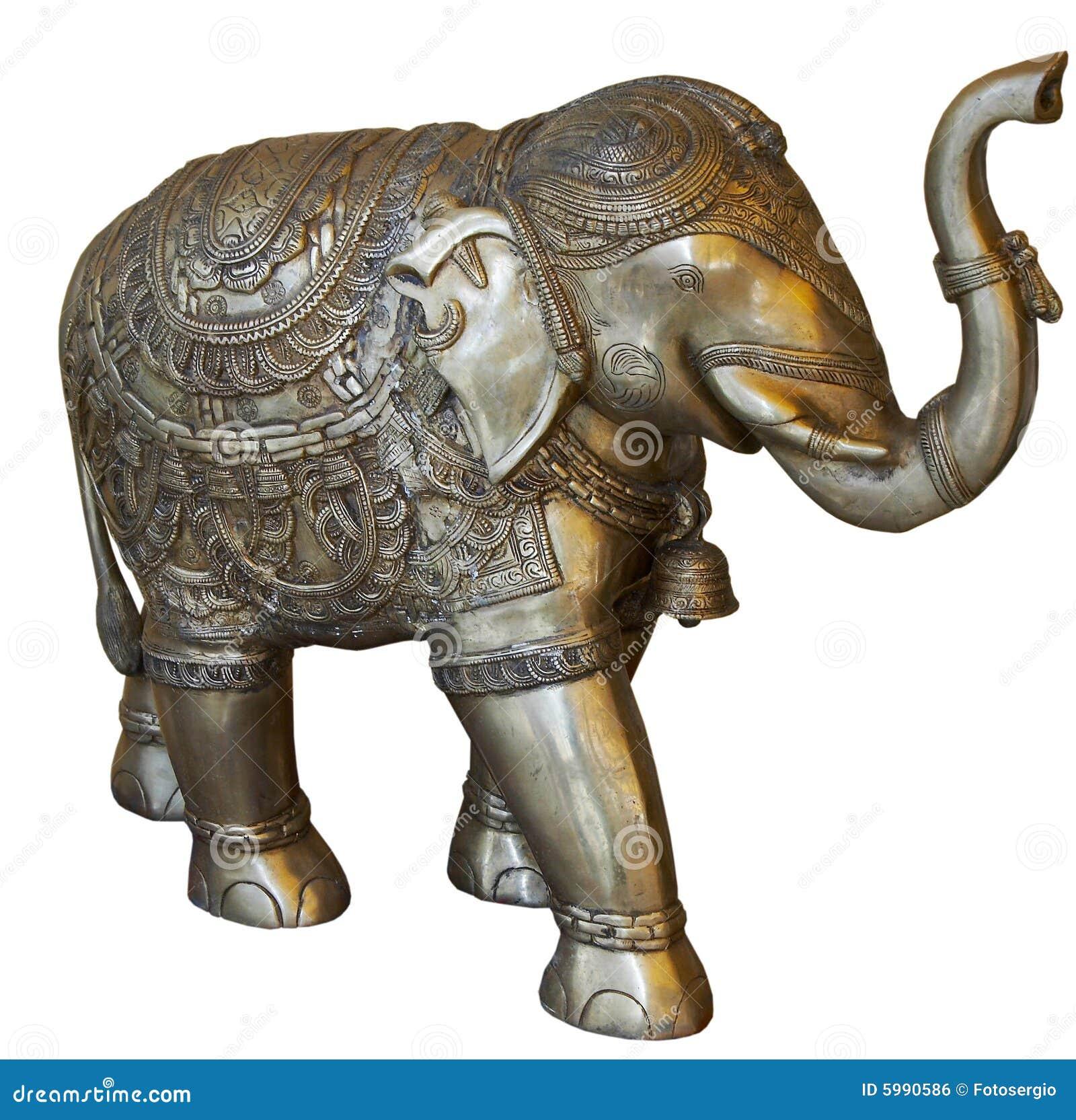 Isolated Buddhist Elephant Stock Photo Image Of Icon 5990586
