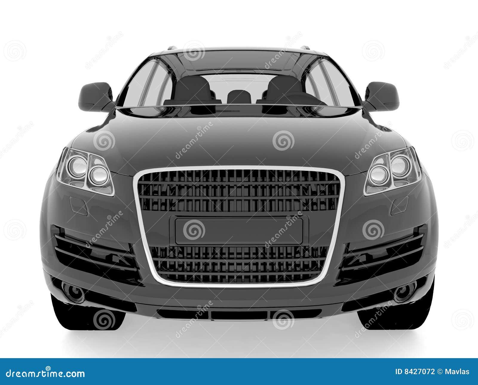 Isolated car