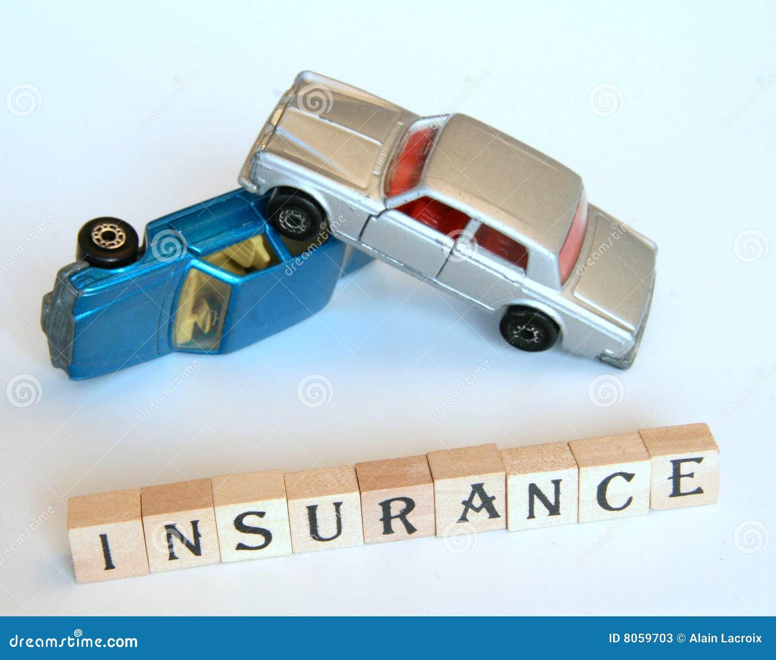 Car Stock Photos: Isolated Car Insurance Stock Photos